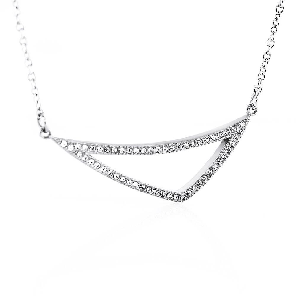 MPM Ocelový náhrdelník z chirurgické oceli Necklace 7699, Silver