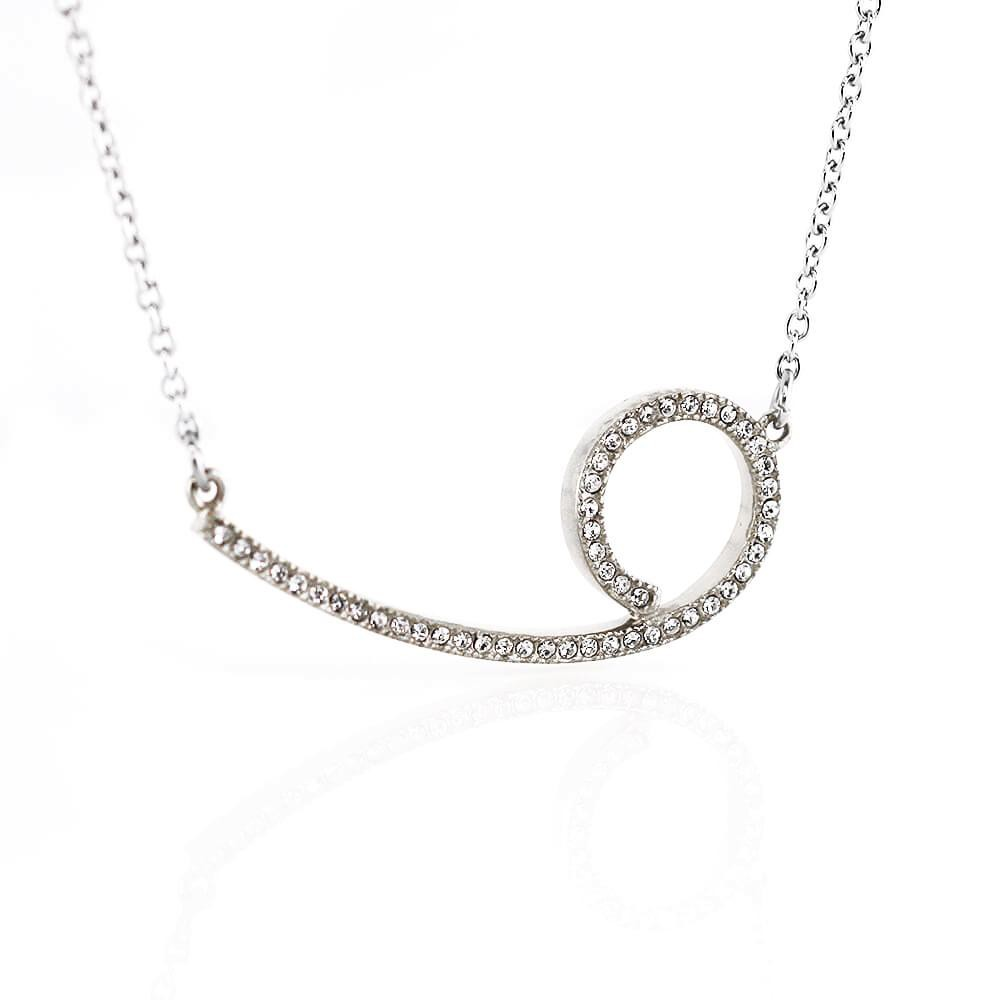 MPM Ocelový náhrdelník z chirurgické oceli Necklace 7708 - Silver