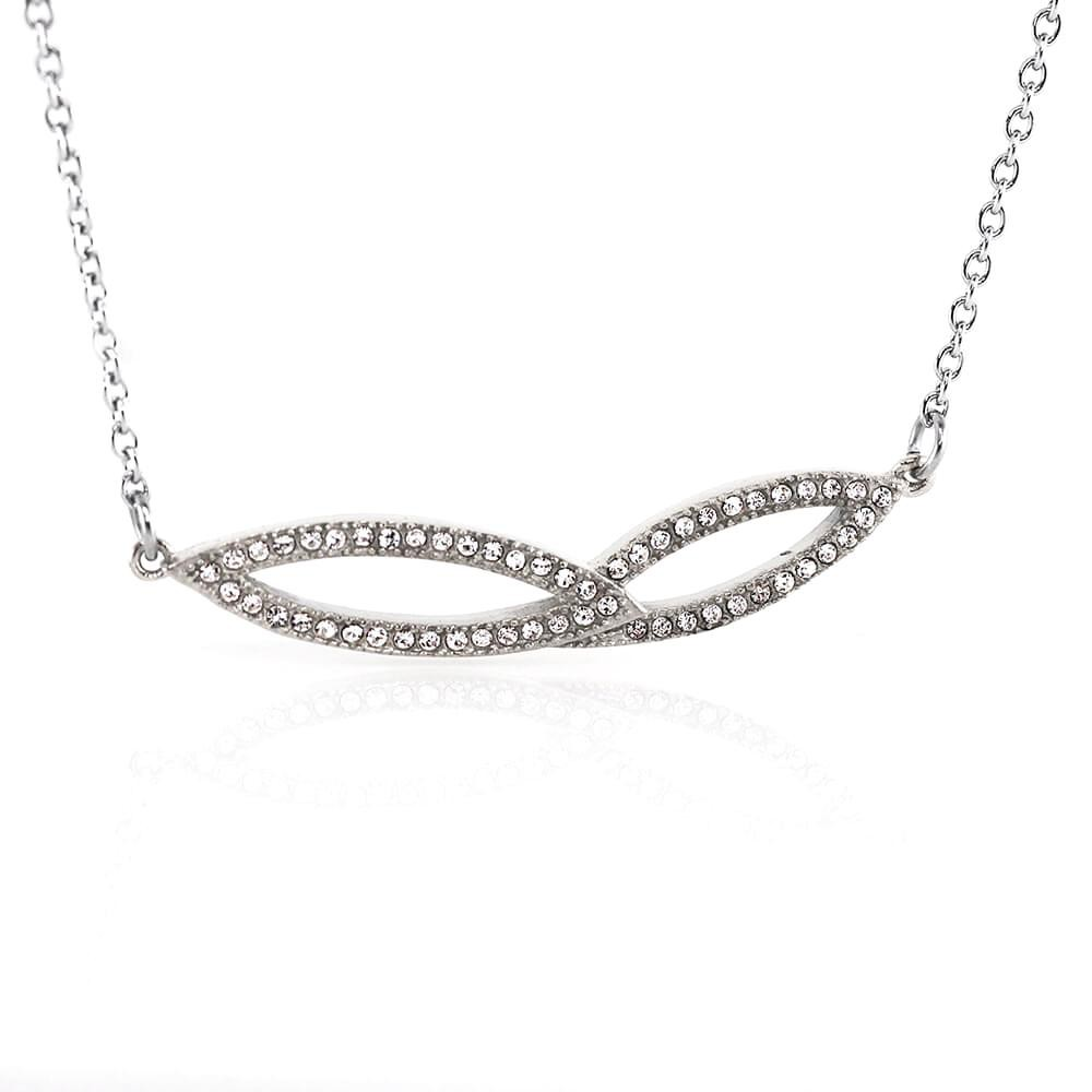 Necklace 7714 - Silver