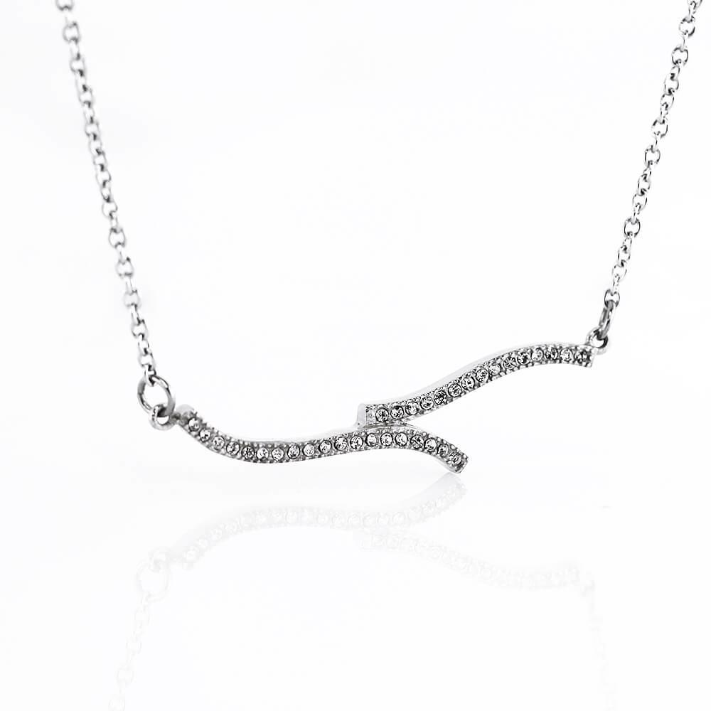 MPM Ocelový náhrdelník z chirurgické oceli Necklace 7717 - Silver