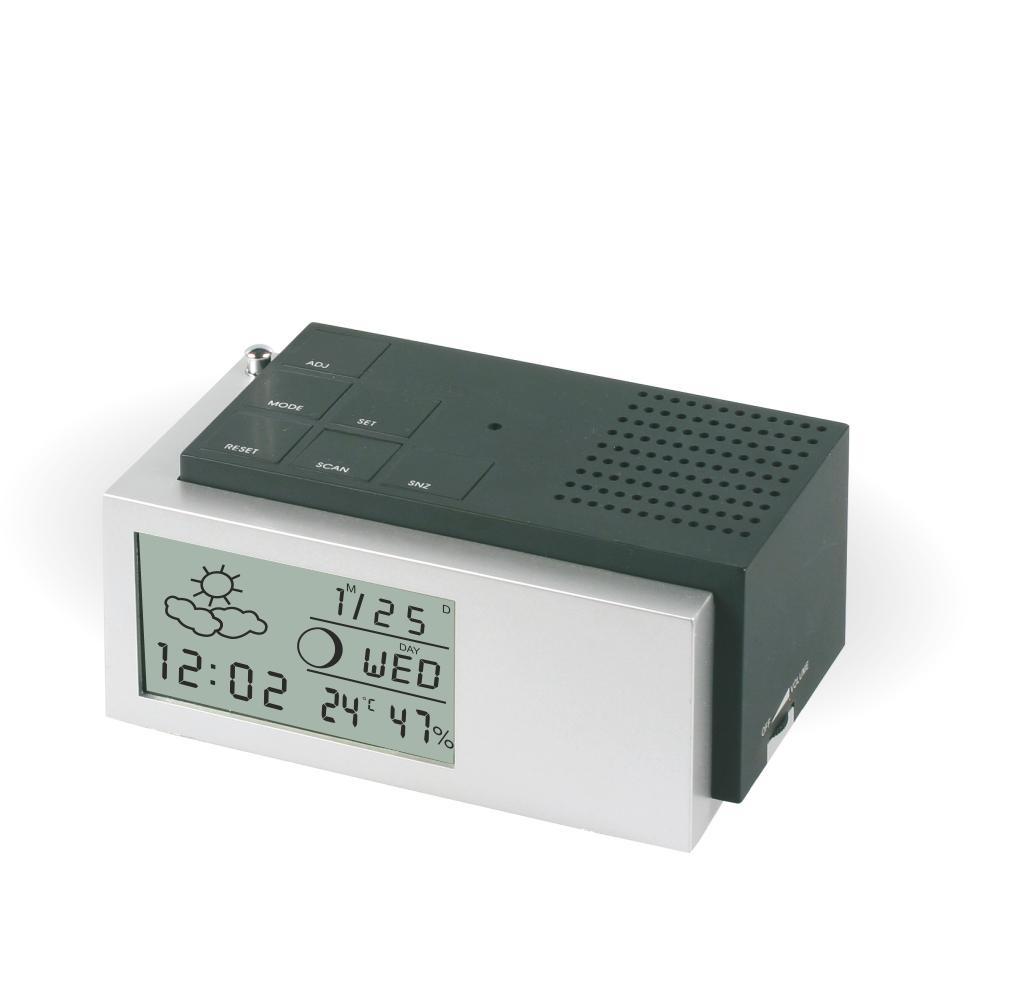 MPM Praktický rádiobudík s digitálním displejemC02.2591