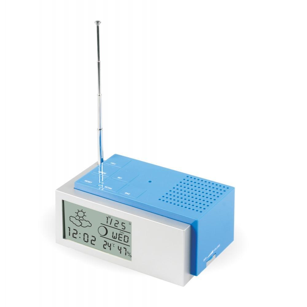 MPM Praktický rádiobudík s digitálním displejem C02.2591
