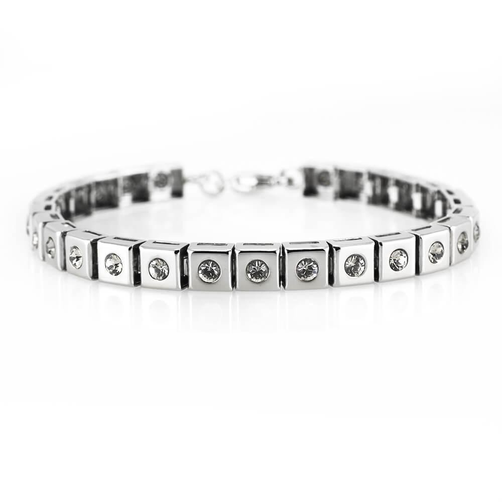 MPM Ocelový náramek z chirurgické oceli Bracelet 7956, Silver