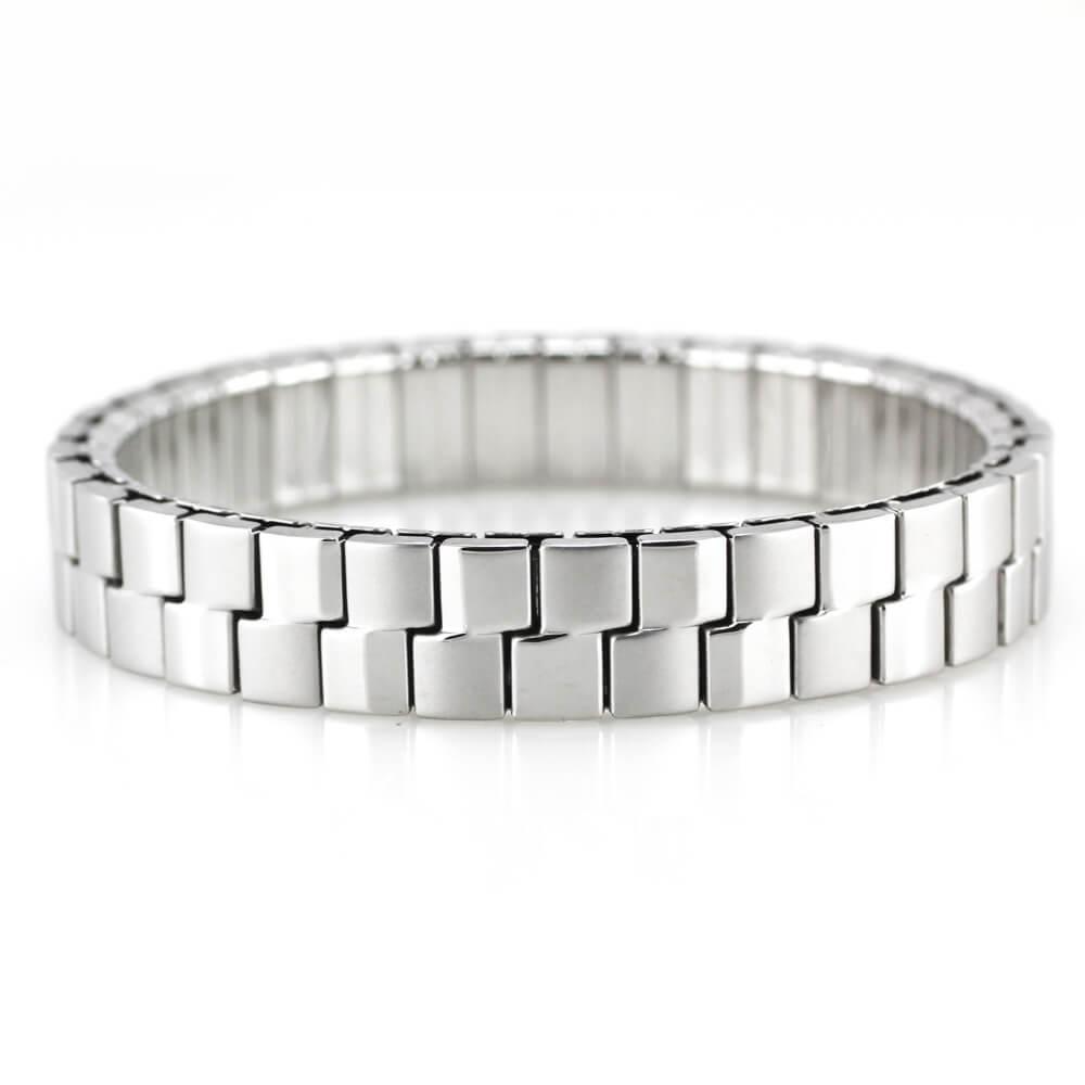 MPM Ocelový náramek z chirurgické oceli Bracelet 7970, Silver