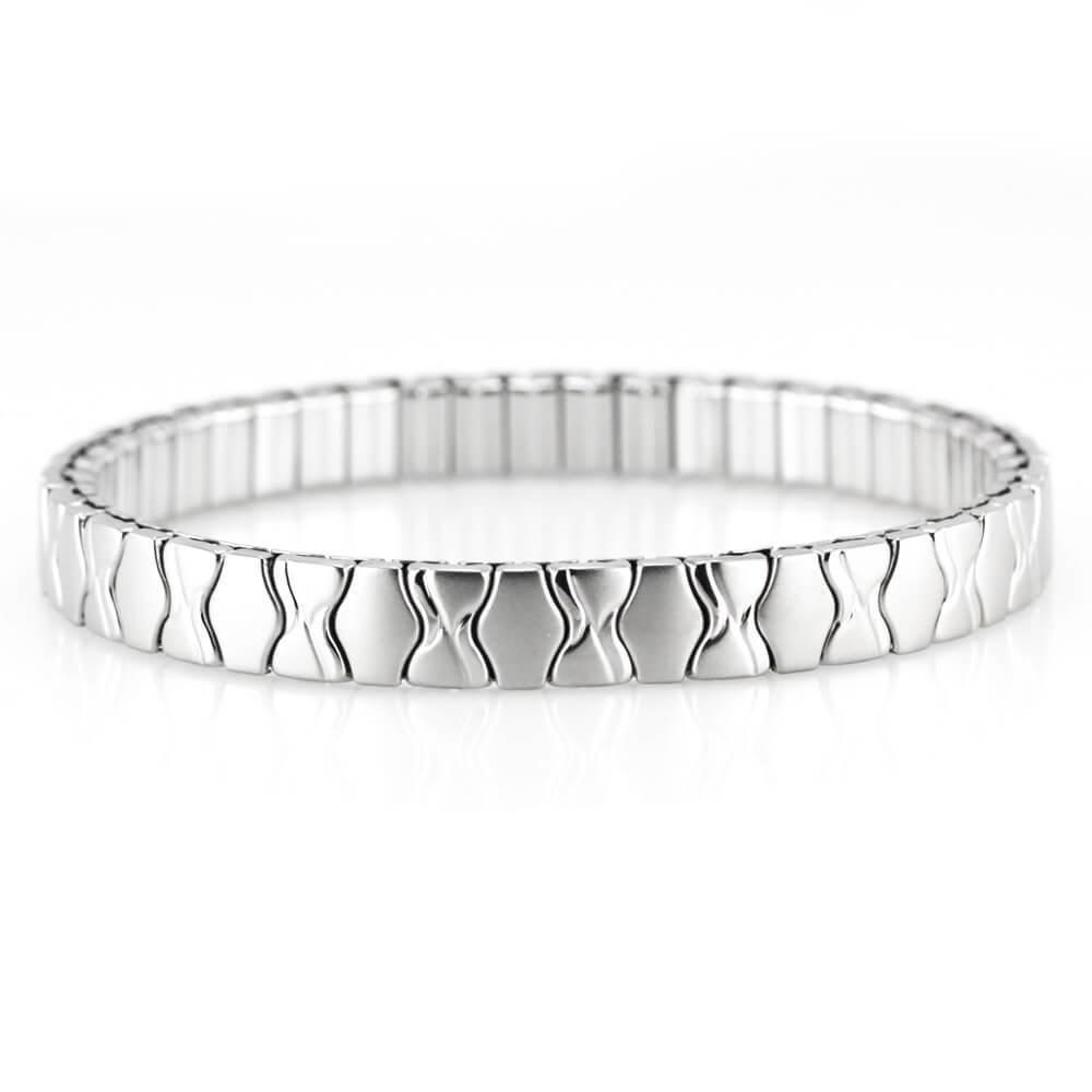 MPM Ocelový náramek z chirurgické oceli Bracelet 7973, Silver