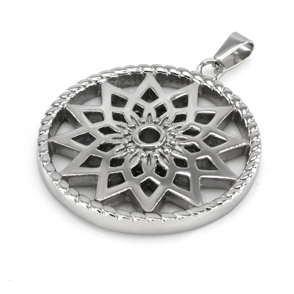 MPM Přívěsek z chirurgické oceli Pendant 7664, Silver
