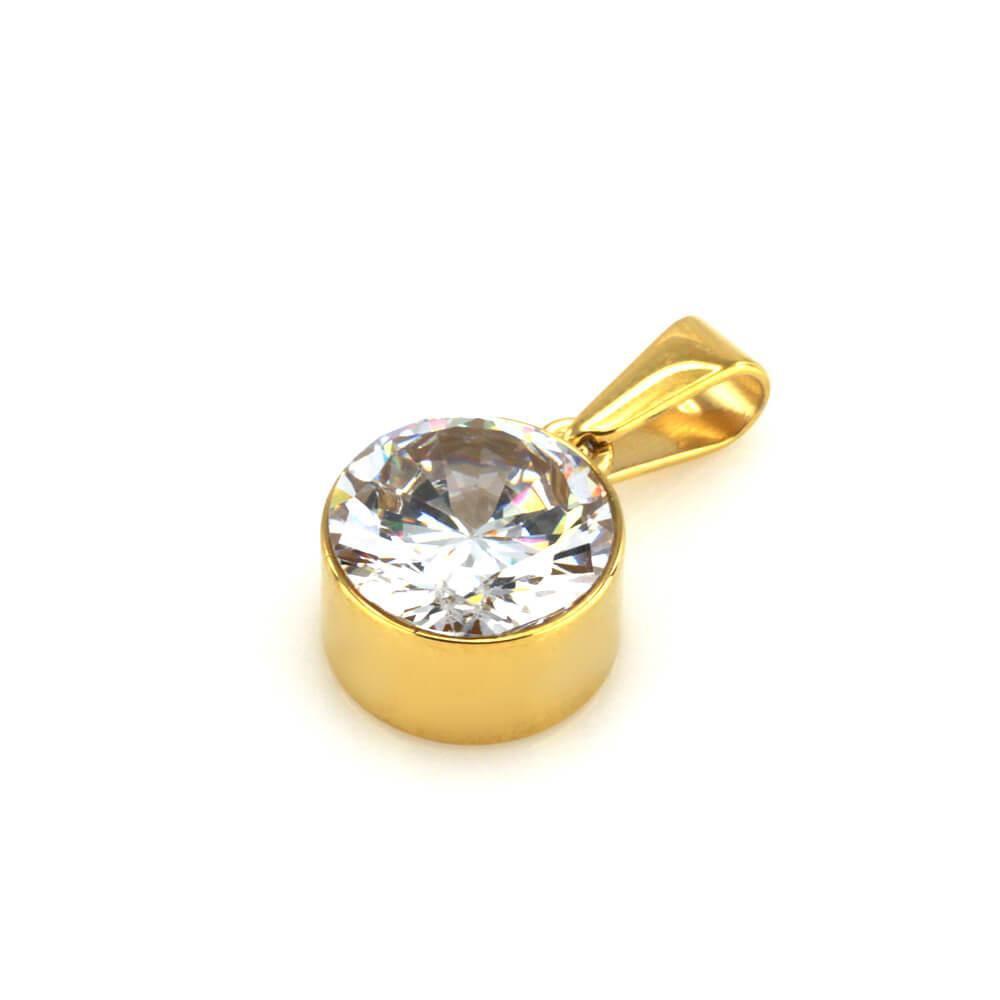 MPM Přívěsek z chirurgické oceli Pendant 7668, Gold