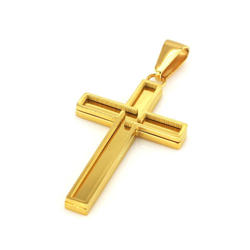 MPM Přívěsek z chirurgické oceli Pendant 7682, Gold
