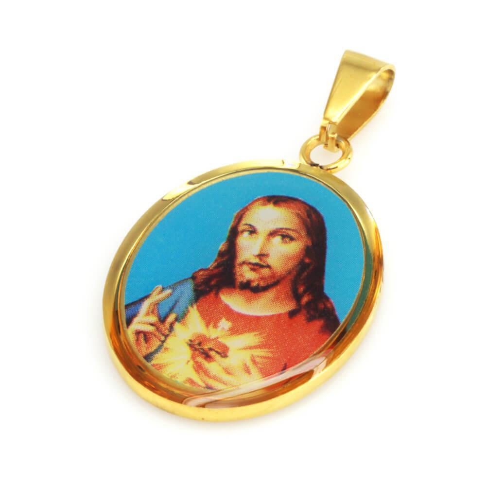 MPM Přívěsek z chirurgické oceli Pendant 7683, Gold