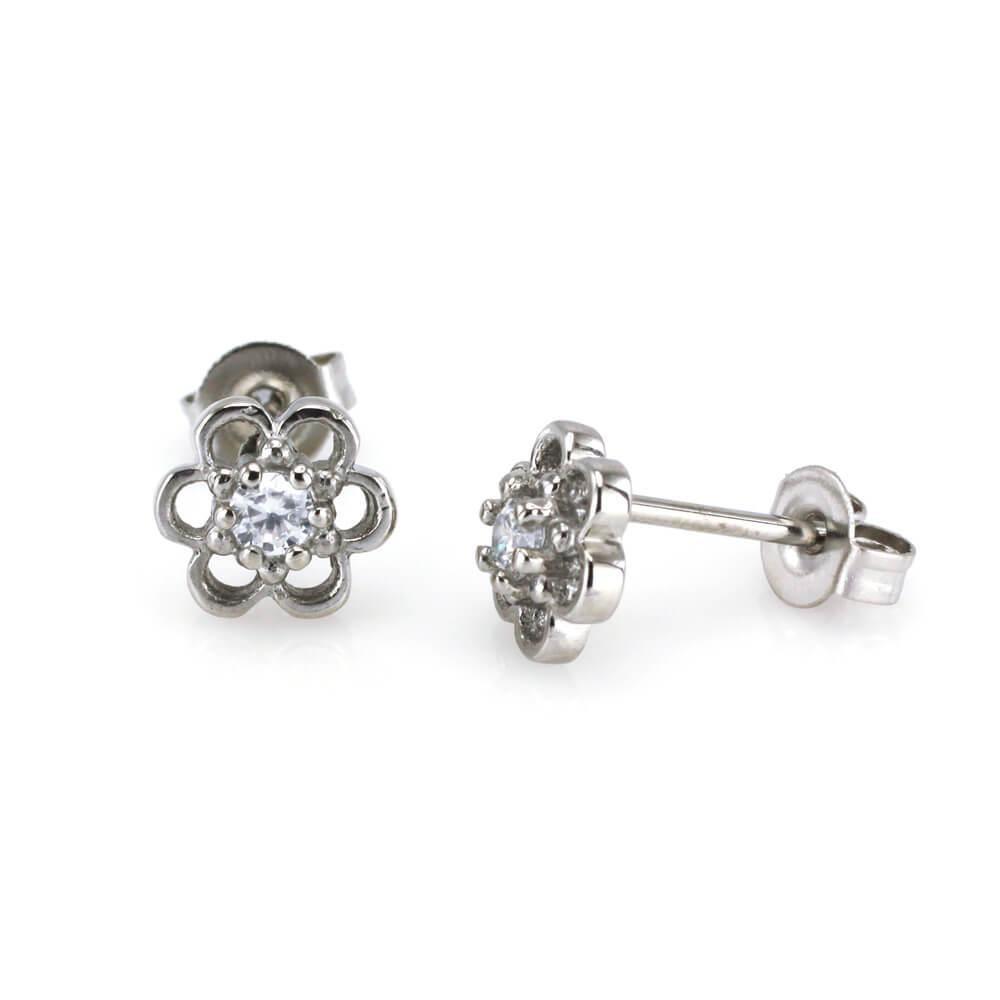 MPM Ocelové náušnice z chirurgické oceli Earrings 7921, Silver