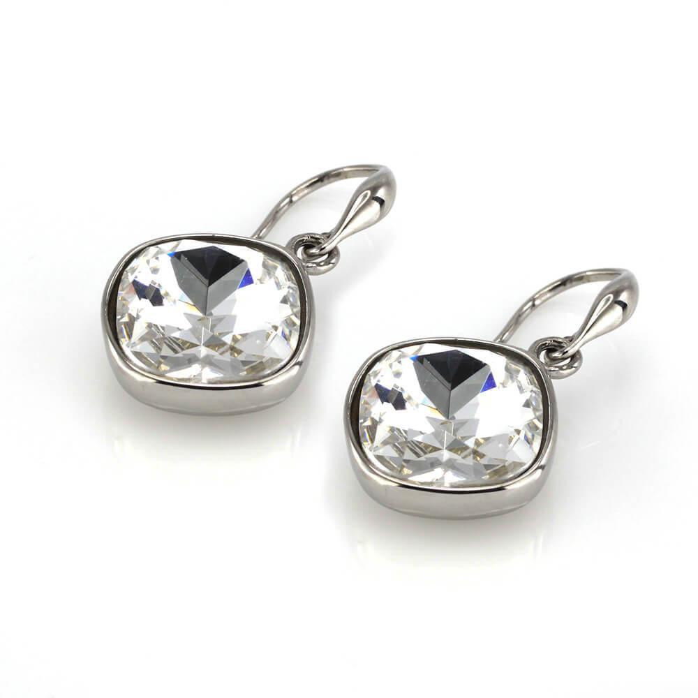 MPM Ocelové náušnice z chirurgické oceli Earrings 7929, Silver
