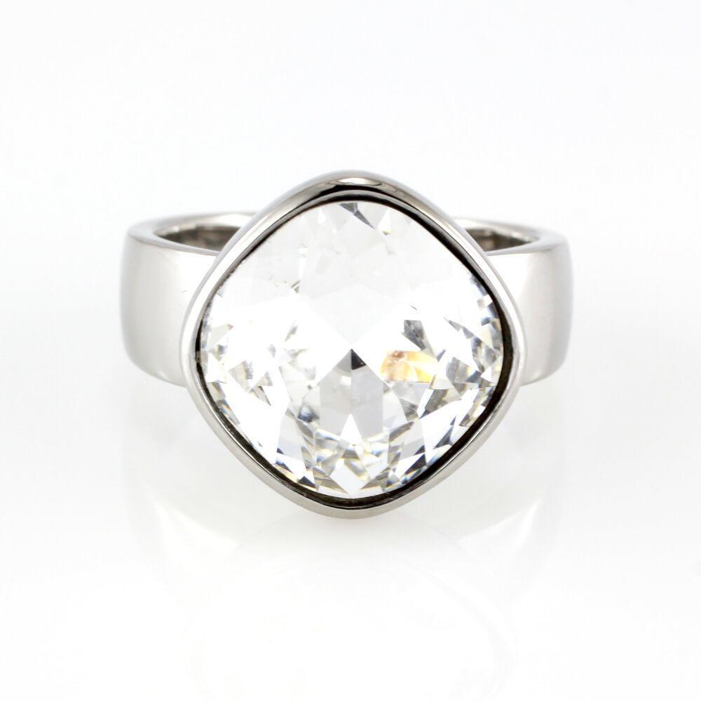 MPM Prsten z chirurgické oceli Ring 7929, Silver, size 54