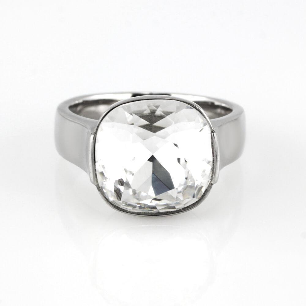 MPM Prsten z chirurgické oceli Ring 7930, Silver, size 54