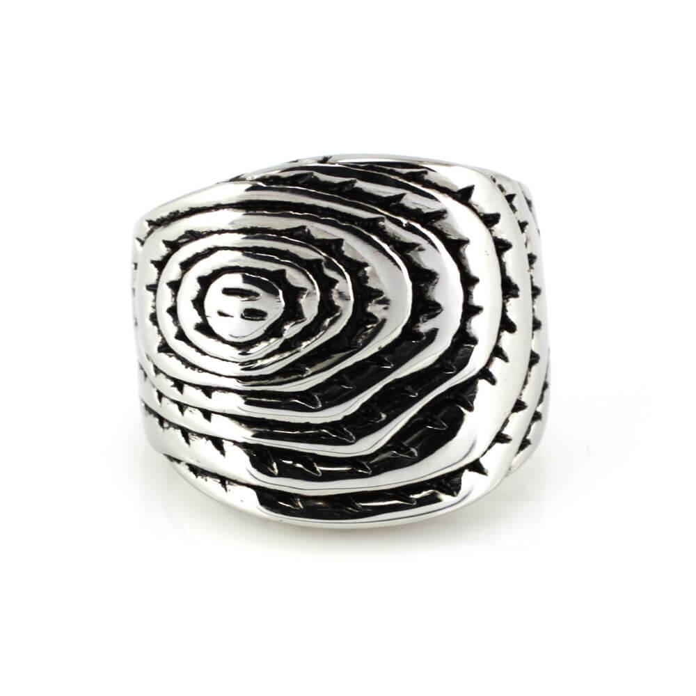 MPM Prsten z chirurgické oceli Ring 7931, Silver, size 58