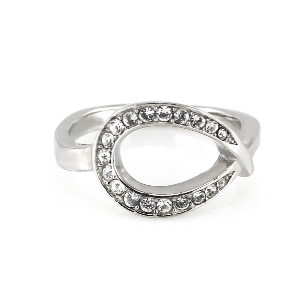 MPM Prsten z chirurgické oceli Ring 7939, Silver, size 54