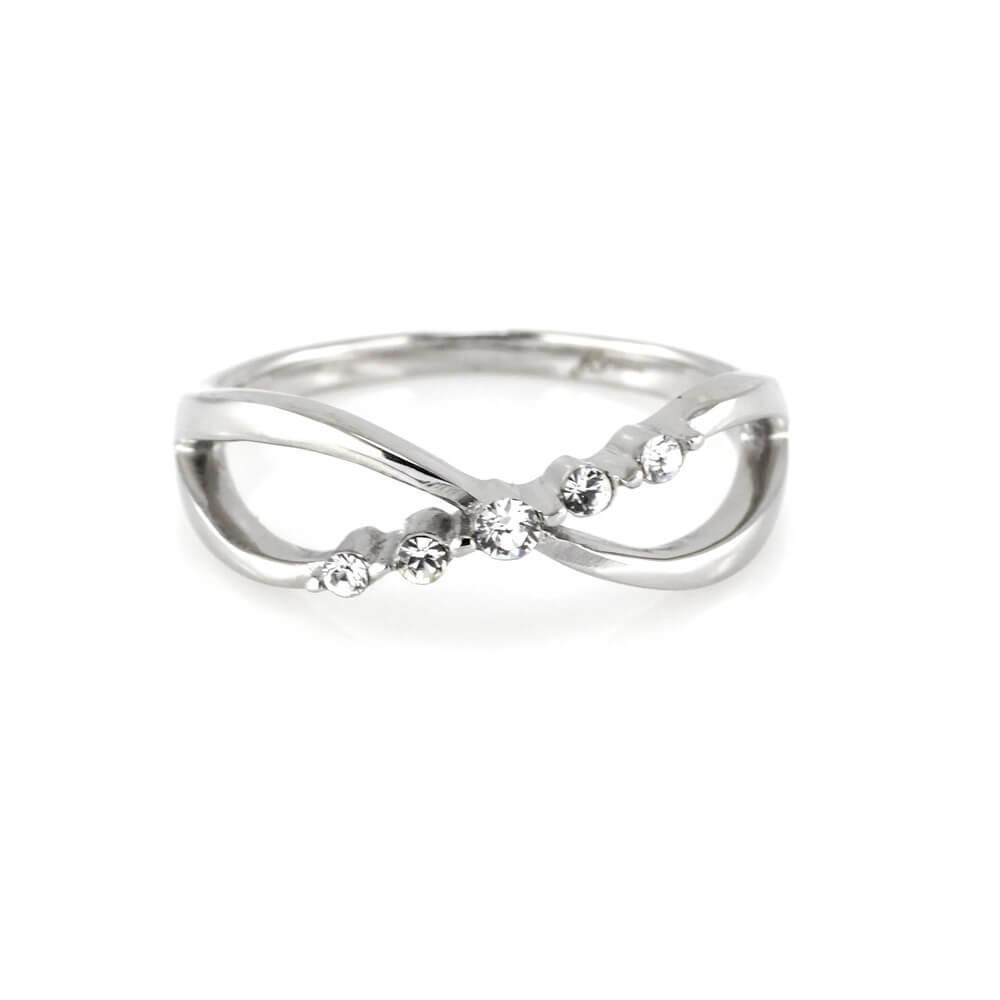 MPM Prsten z chirurgické oceli Ring 7940, Silver, size 58