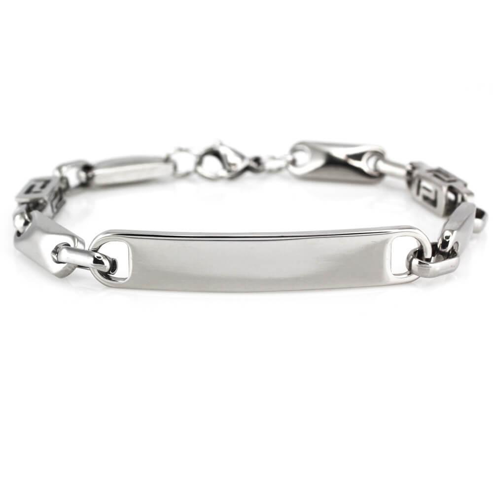MPM Ocelový náramek z chirurgické oceli Bracelet 7774, Silver