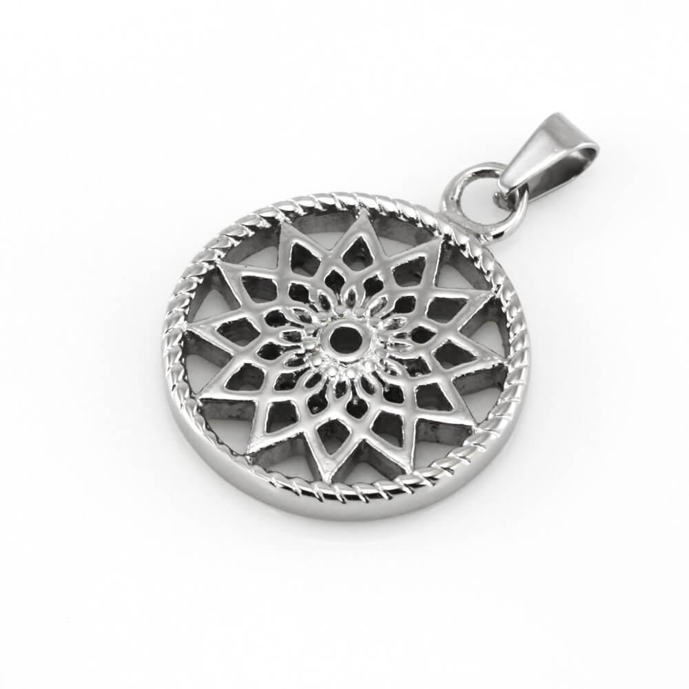 MPM Přívěsek z chirurgické oceli Pendant 7852, Silver