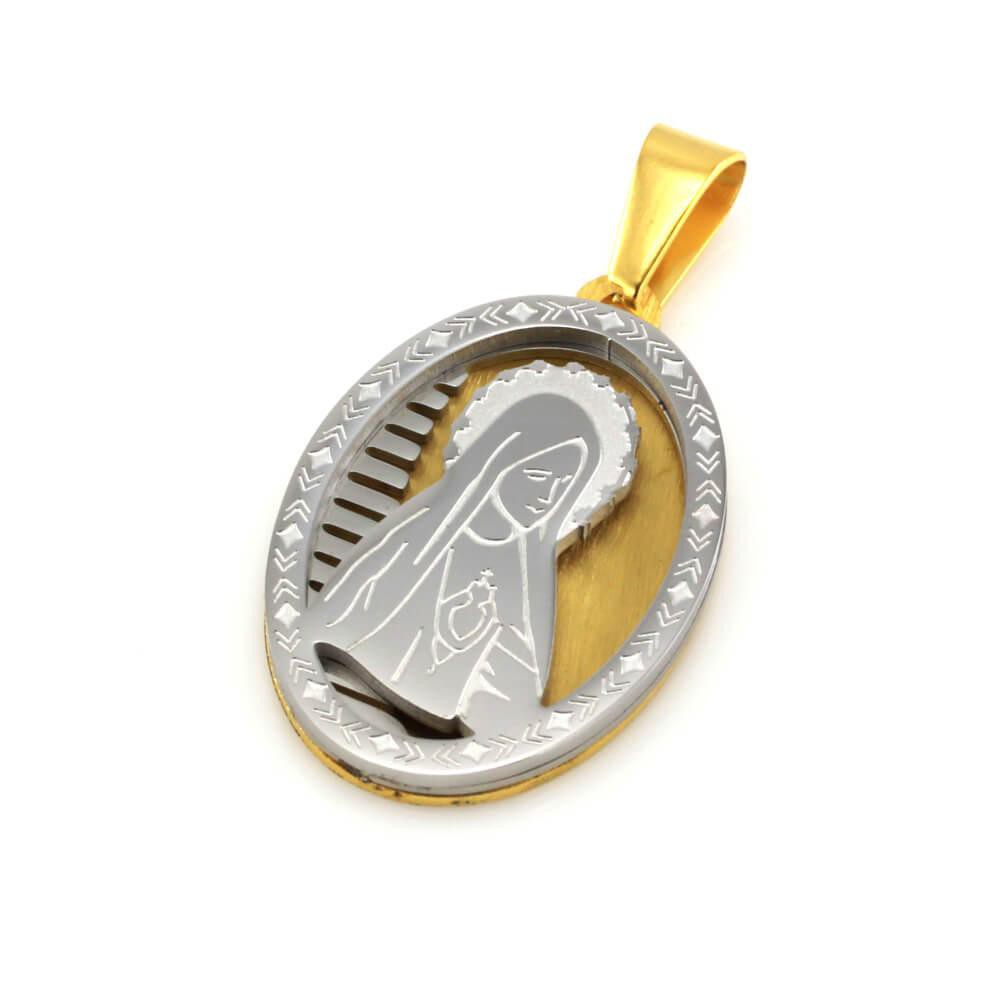 MPM Přívěsek z chirurgické oceli Pendant 7856, Gold