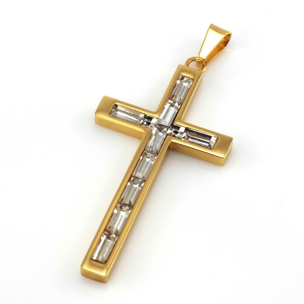 MPM Přívěsek z chirurgické oceli Pendant 7859, Gold