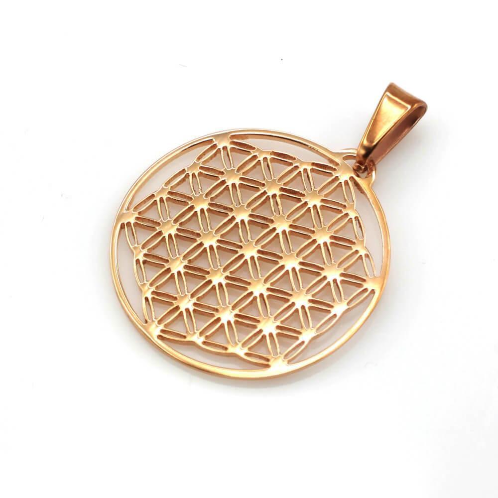 MPM Přívěsek z chirurgické oceli Pendant 7861, Gold