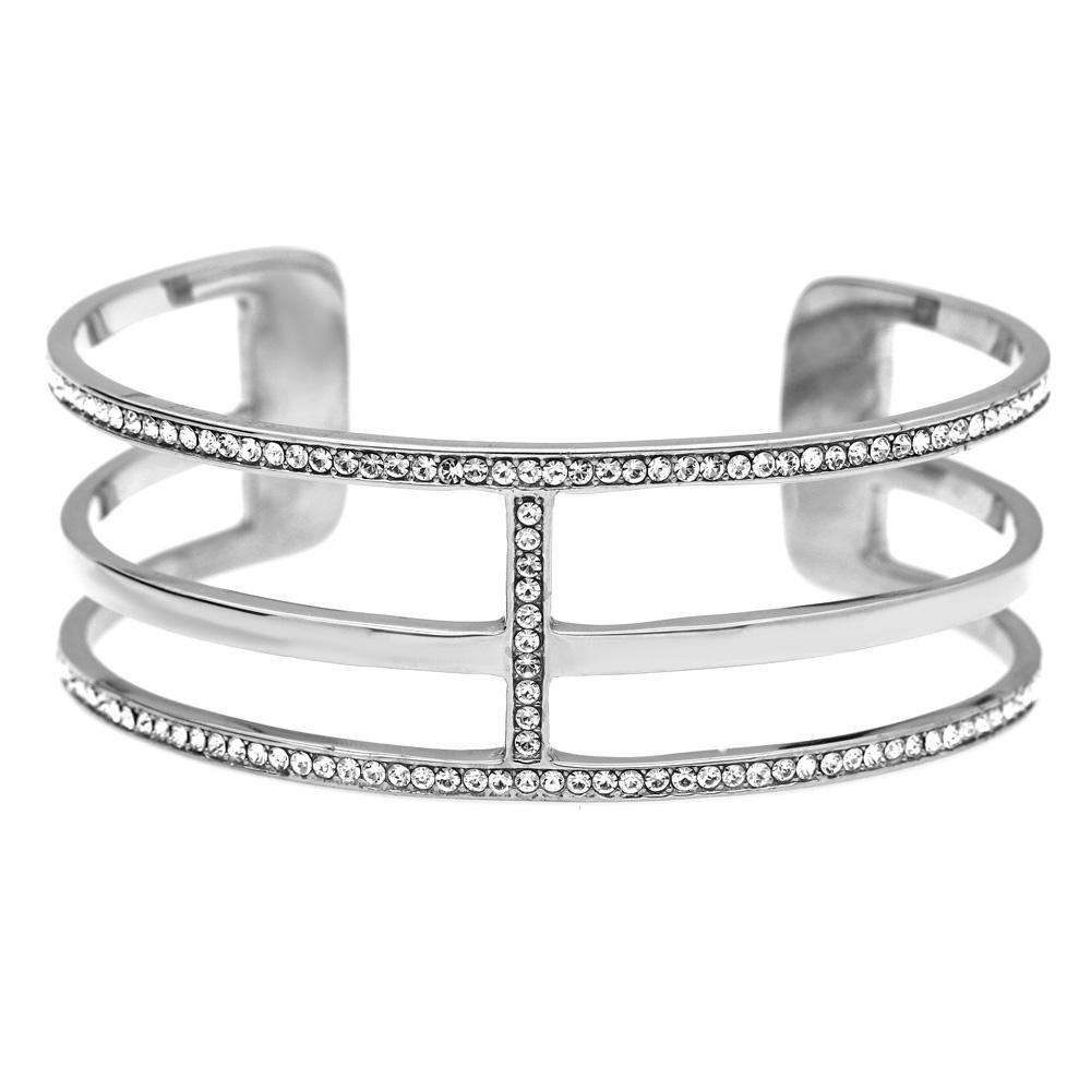 MPM Ocelový náramek z chirurgické oceli Bracelet 7987, Silver, size L