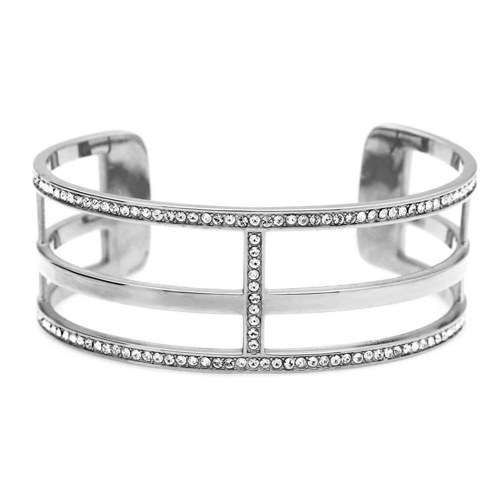 MPM Ocelový náramek z chirurgické oceli Bracelet 7987, Silver, size M