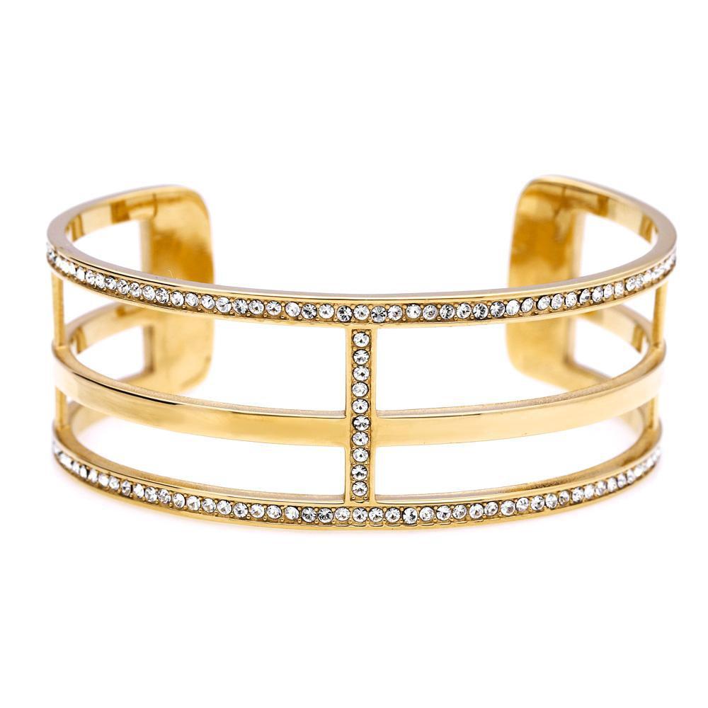 MPM Ocelový náramek z chirurgické oceli Bracelet 7988, Gold, size M
