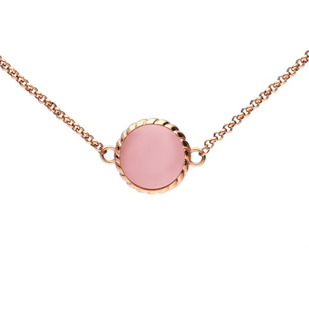 MPM Ocelový náhrdelník z chirurgické oceli Necklace 7991, Gold
