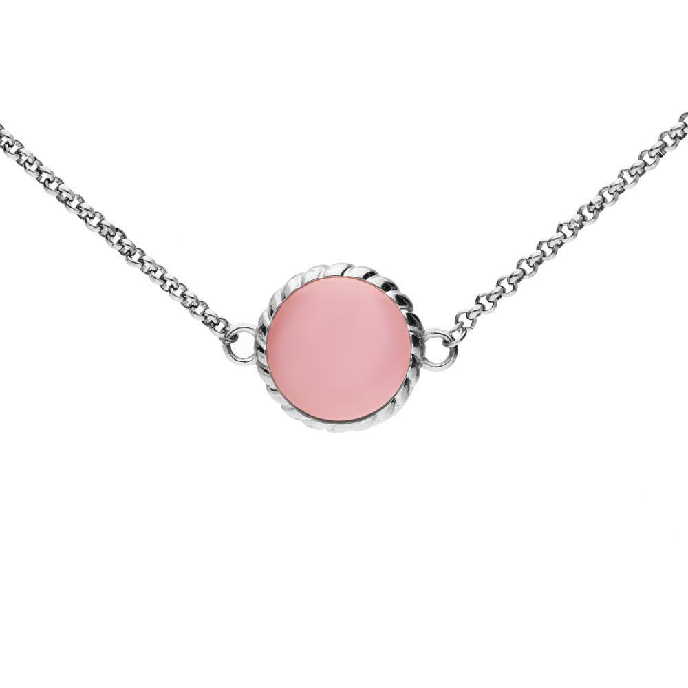 MPM Ocelový náhrdelník z chirurgické oceli Necklace 7993, Silver