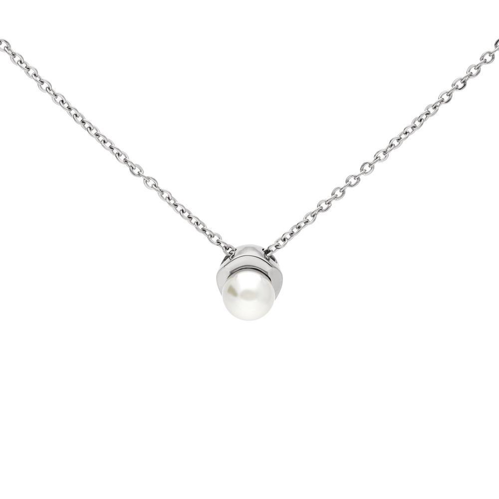 MPM Ocelový náhrdelník z chirurgické oceli Necklace 8001, Silver