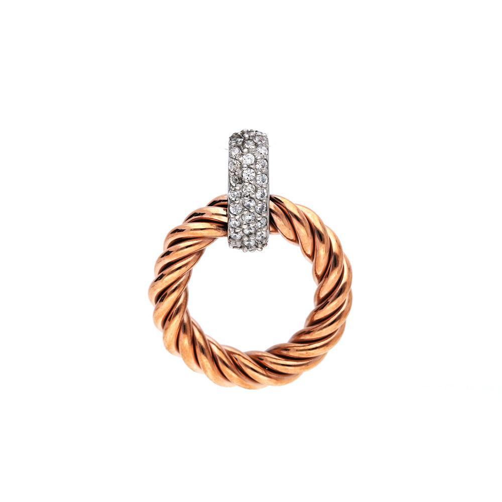 MPM Přívěsek z chirurgické oceli Pendant 6509, Gold