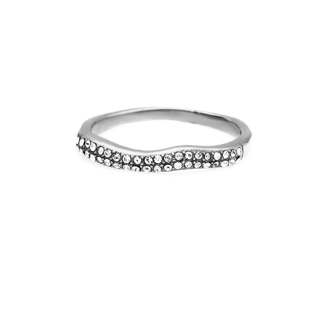 MPM Prsten z chirurgické oceli Ring 8025, Silver, size 58