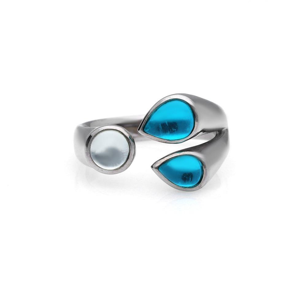 MPM Prsten z chirurgické oceli Ring 8049, Silver, size 54