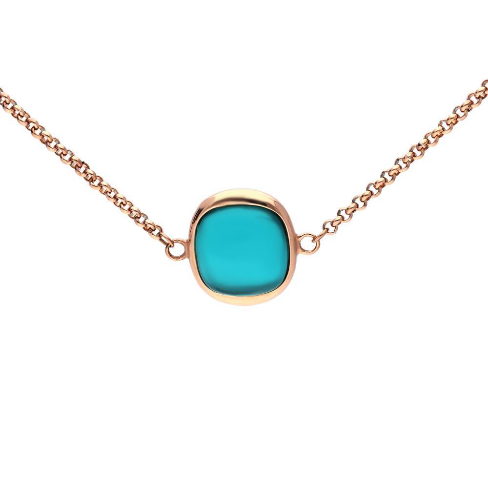 MPM Ocelový náhrdelník z chirurgické oceli Necklace 7995, Gold