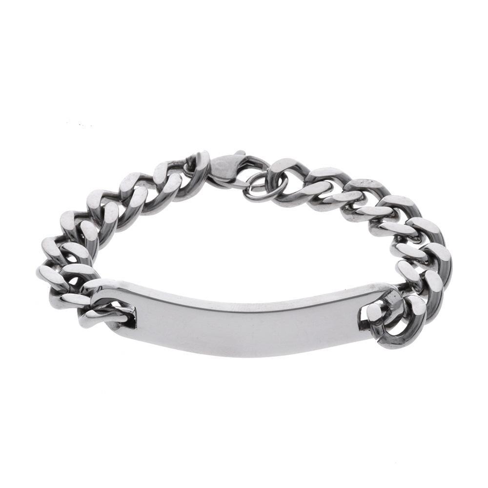 MPM Ocelový náramek z chirurgické oceli Bracelet 8140, Silver