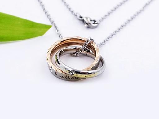MPM Ocelový náhrdelník z chirurgické oceli Necklace 8203, Multicolour
