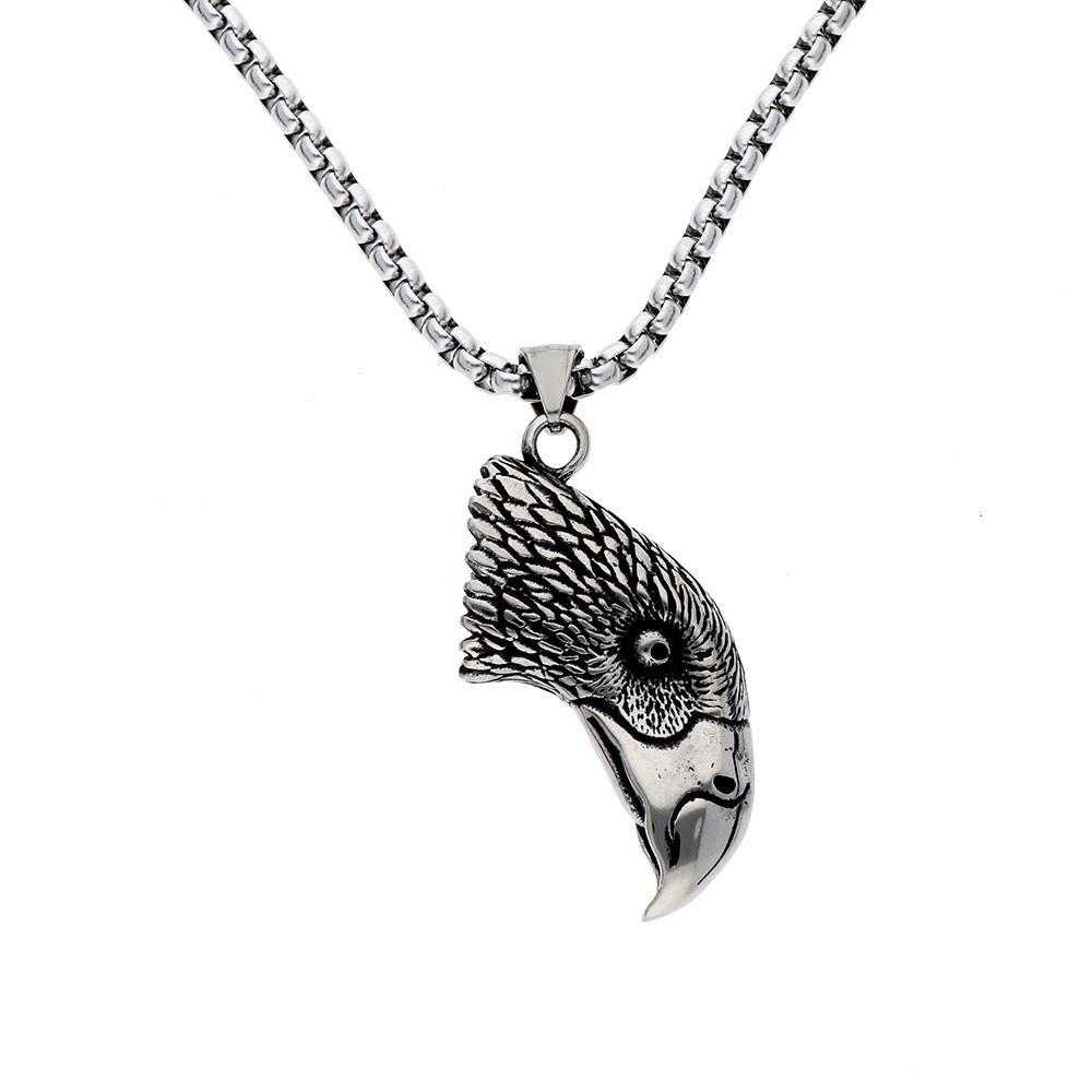 MPM Ocelový náhrdelník z chirurgické oceli Necklace 8120, Silver