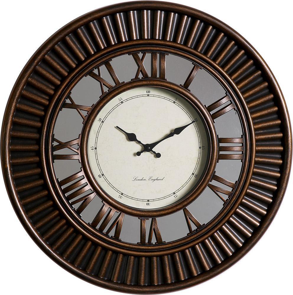 MPM Kulaté retro hodiny MPM E01.3881
