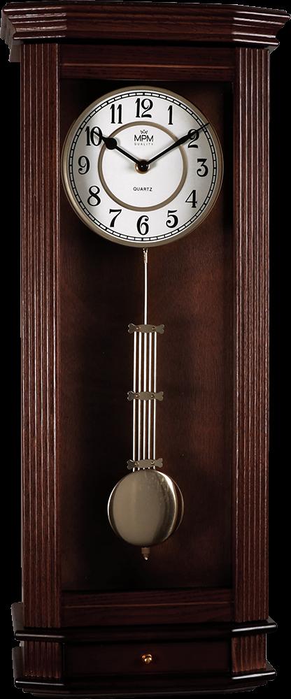 MPM Kyvadlové nástěnné hodiny MPM E05.3892