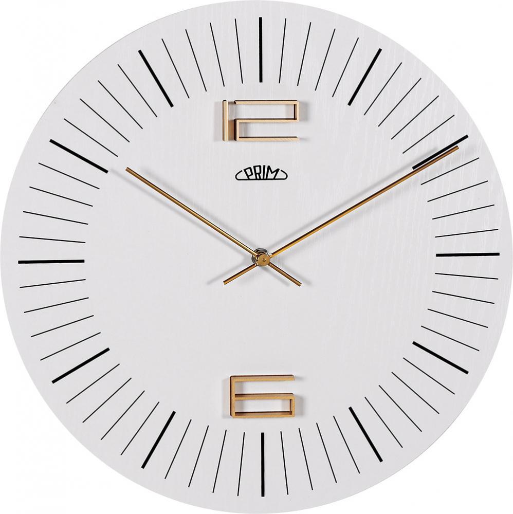 PRIM Nástěnné hodiny PRIM Wood Thin I E07P.3953.01