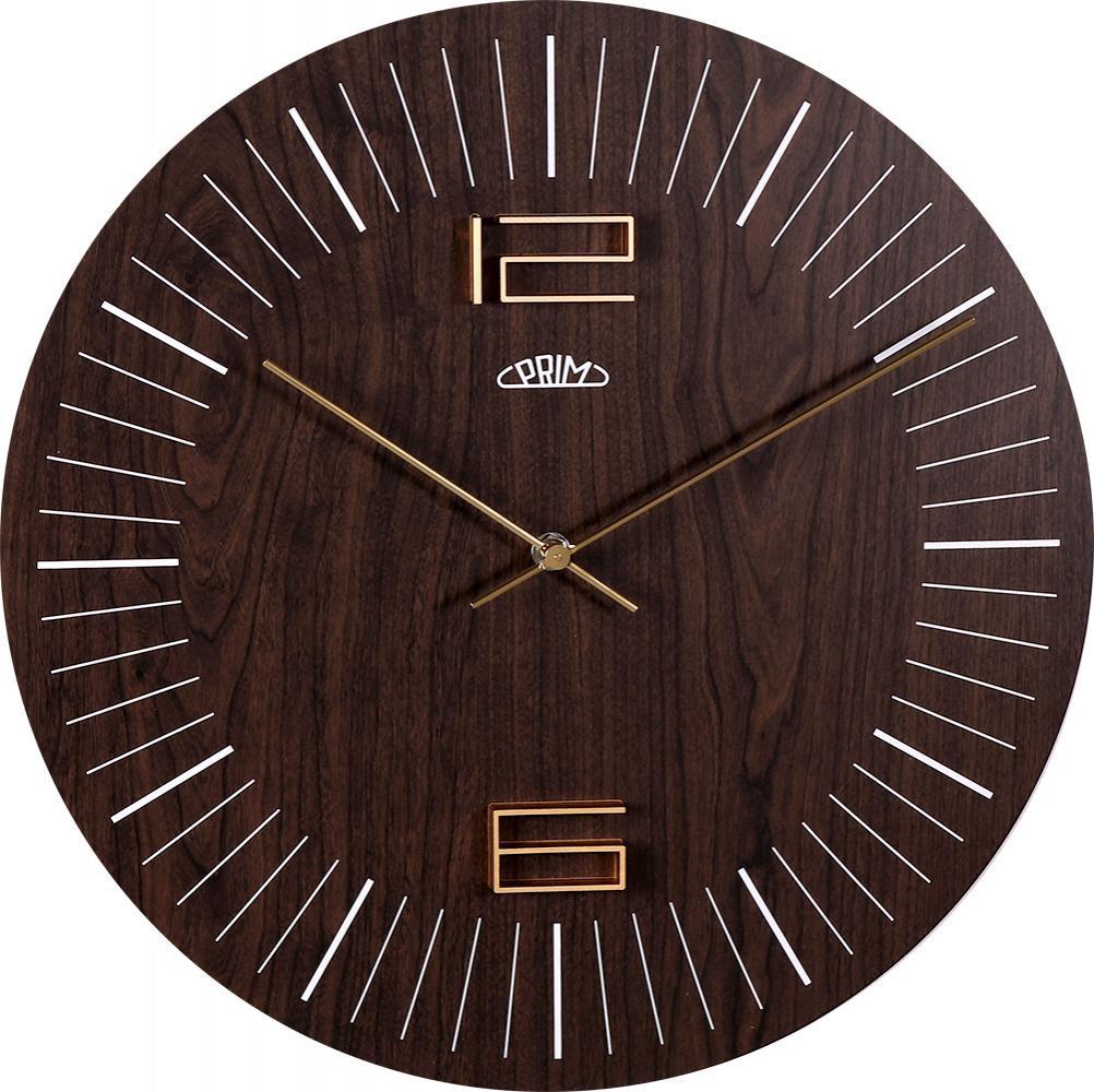 PRIM Nástěnné hodiny PRIM Wood Thin II E07P.3953.52