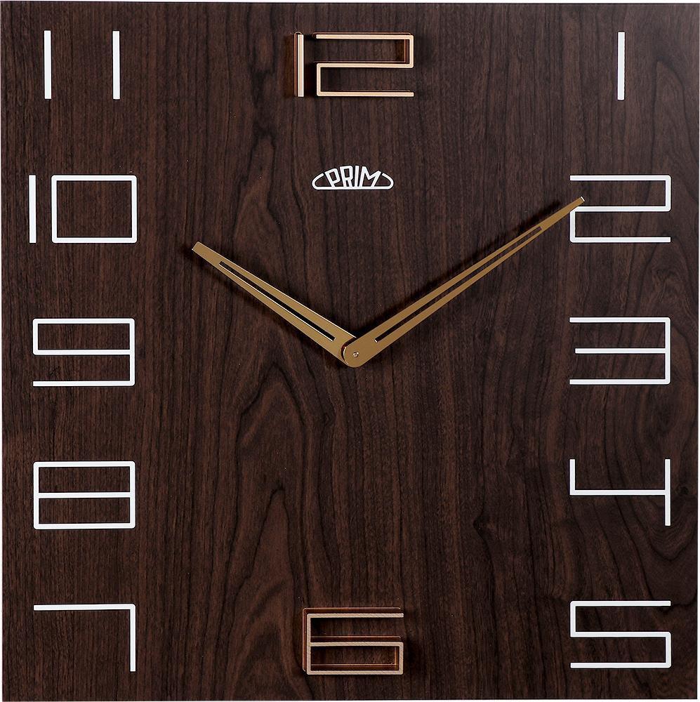 MPM Nástěnné hodiny PRIM Wood Touch II E07P.3954.52