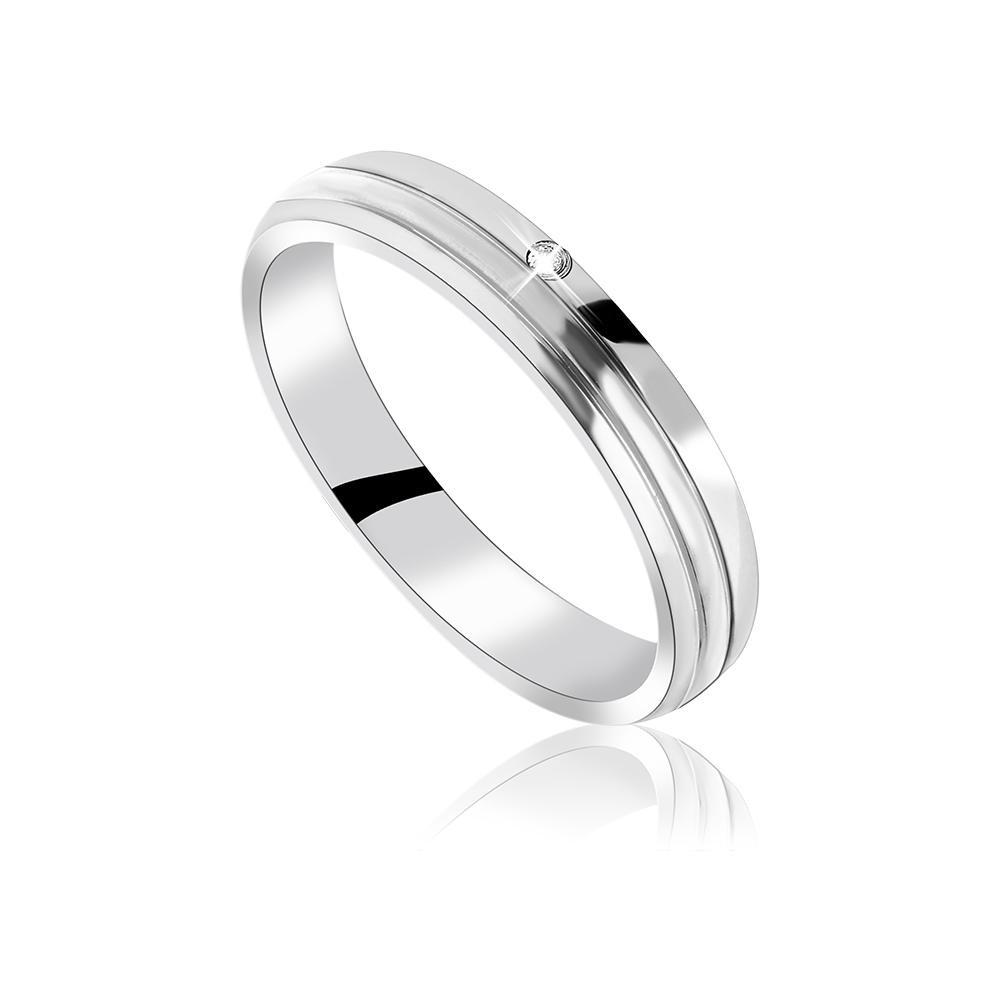 MPM Snubní ocelový prsten z chirurgické oceli Wedding ring 70129 A - size 54