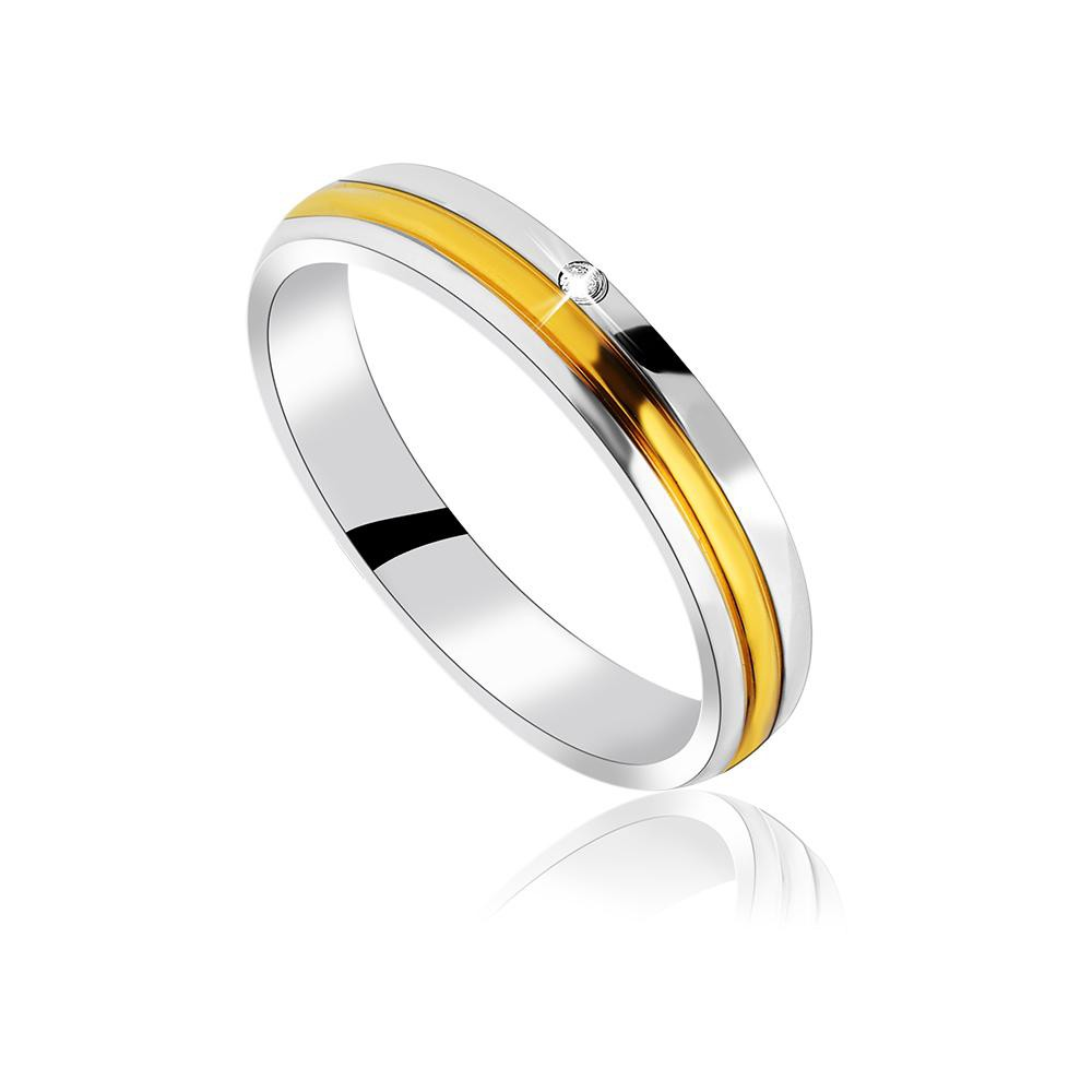 MPM Snubní ocelový prsten z chirurgické oceli Wedding ring 70130 A - size 57