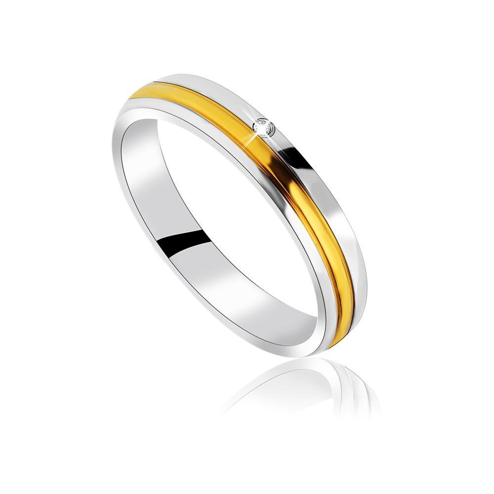 MPM Snubní ocelový prsten z chirurgické oceli Wedding ring 70130 A - size 58