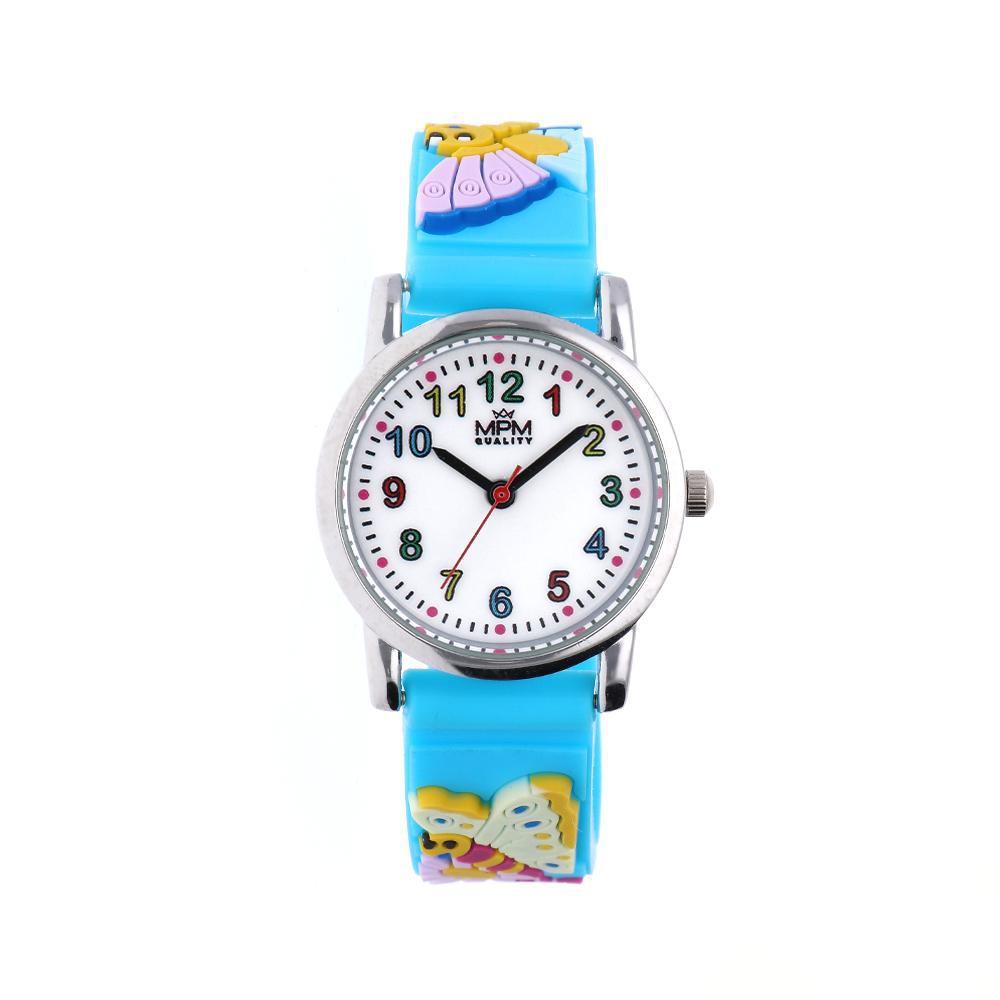 MPM Dětské náramkové hodinky MPM Kids Butterfly 11233.D