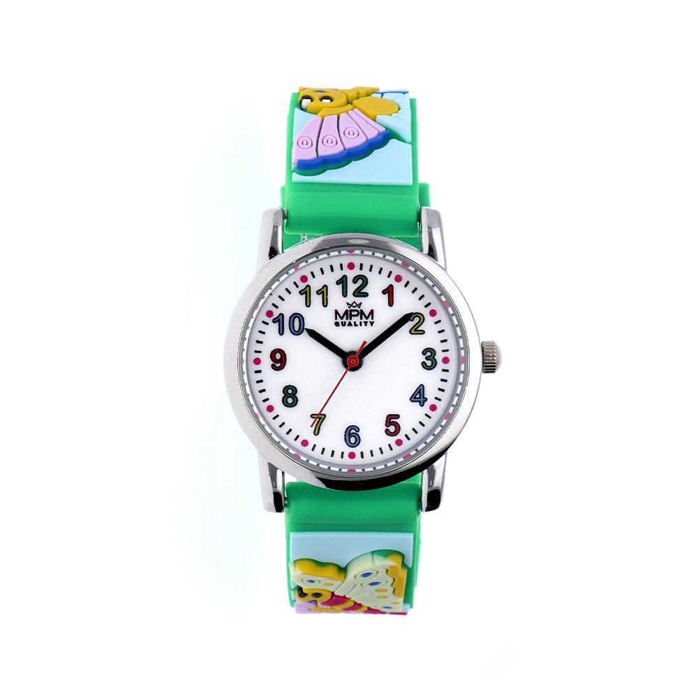 MPM Dětské náramkové hodinky MPM Kids Butterfly 11233.I