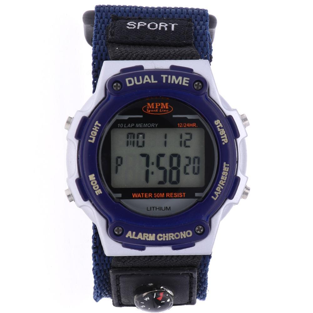 MPM Sportovní digitální hodinky MPM 134-D99479GUZ603001