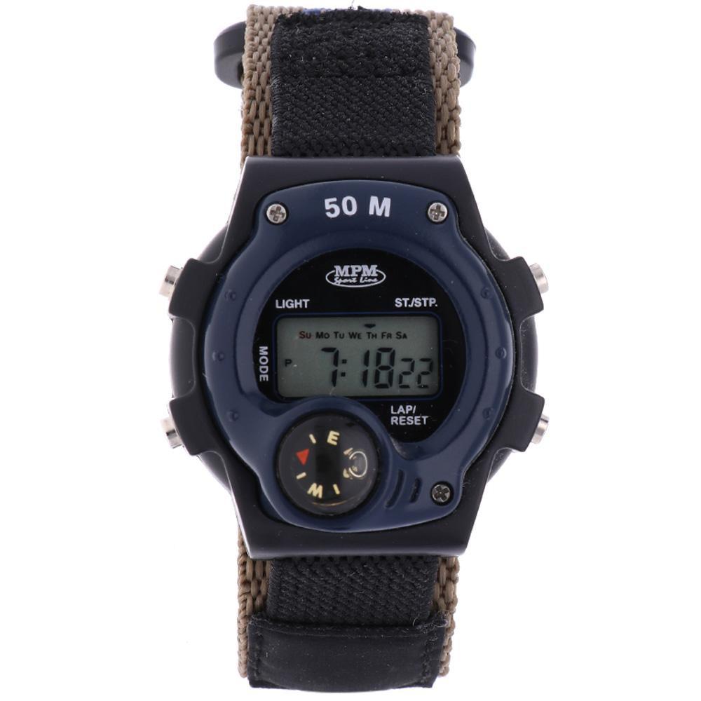 MPM Digitální hodinky MPM 16-D69213L1XP01000+plyš